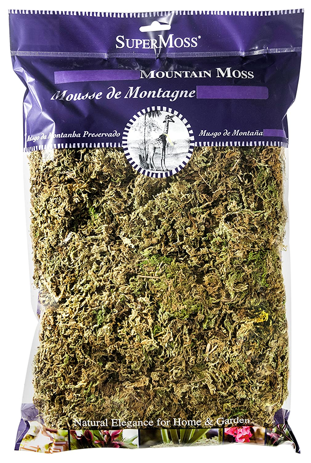 Amazon.com: supermoss Mountain Moss Preserved: Jardín y ...