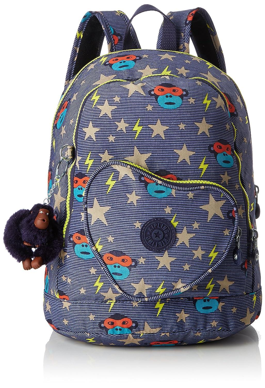 Kipling Heart Backpack Sac à Dos Enfants, 32 cm, 9 liters, Multicolore (ToddlerHero) K2108626B