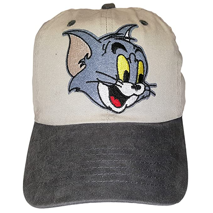 Image Unavailable. Image not available for. Color  Khaki Tom   Jerry  Adjustable Dad Hat Strapback Patch 0936fc1b9fc