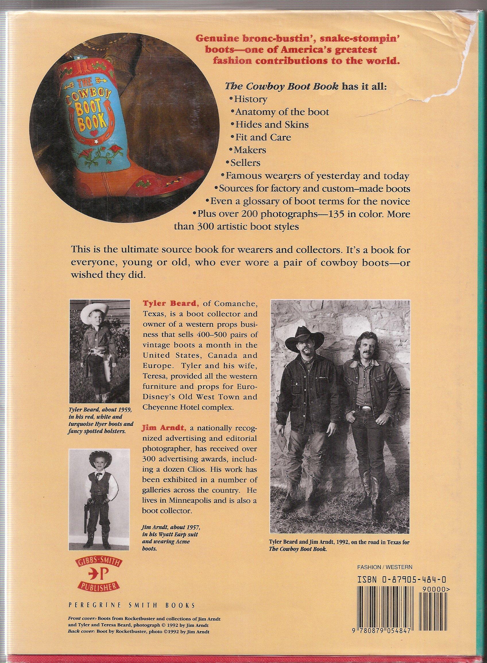 The Cowboy Boot Book Beard, Tyler, Arndt, Jim