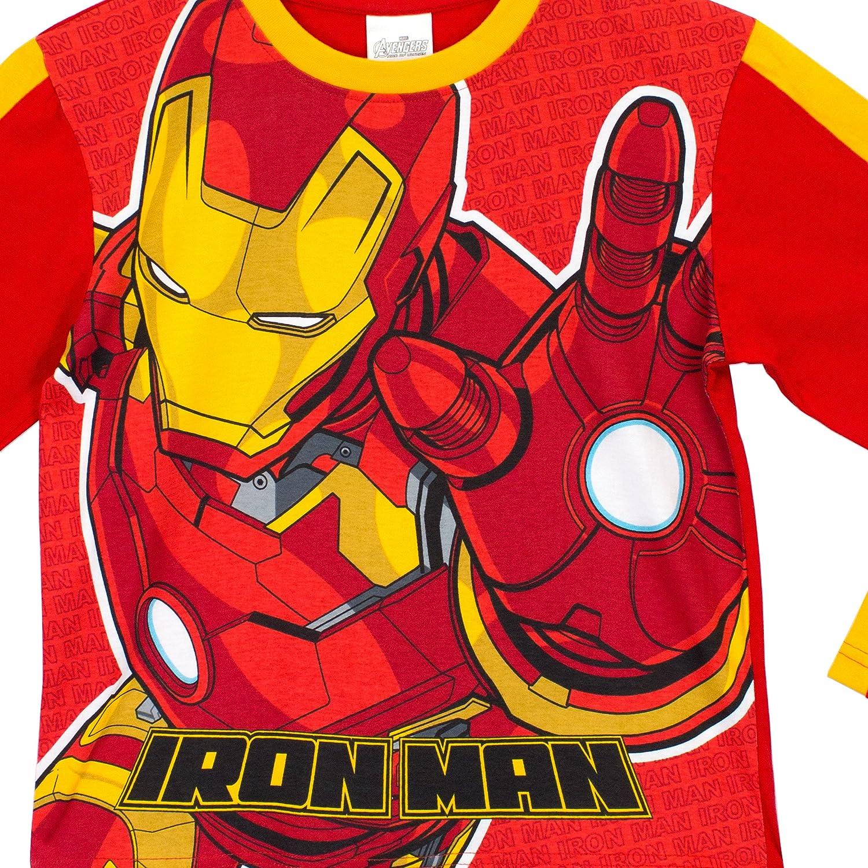Marvel Avengers - Pijama para Niños - Iron Man - 4 a 5 Años: Amazon.es: Ropa y accesorios