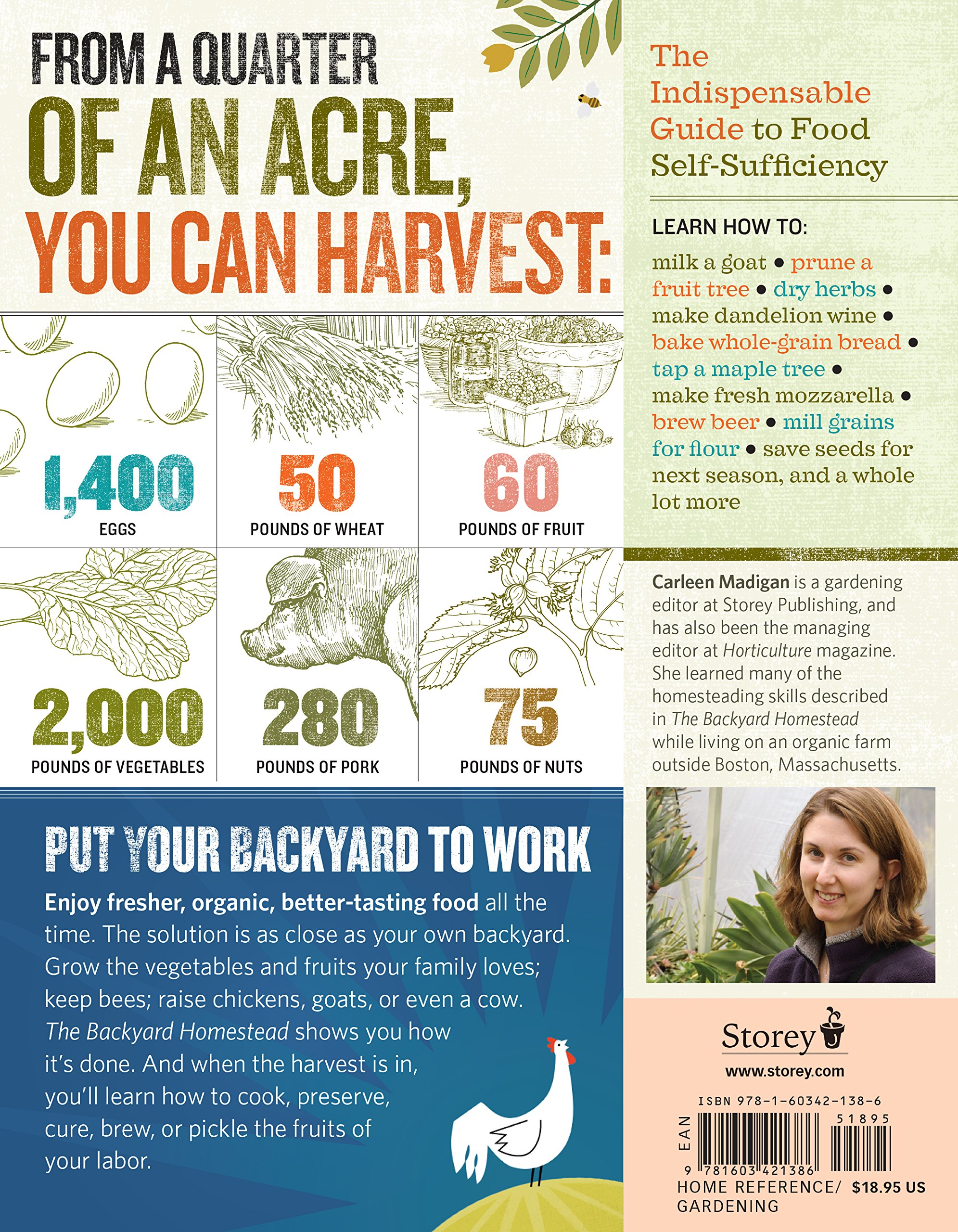 the backyard homestead produce all the food you need on just a