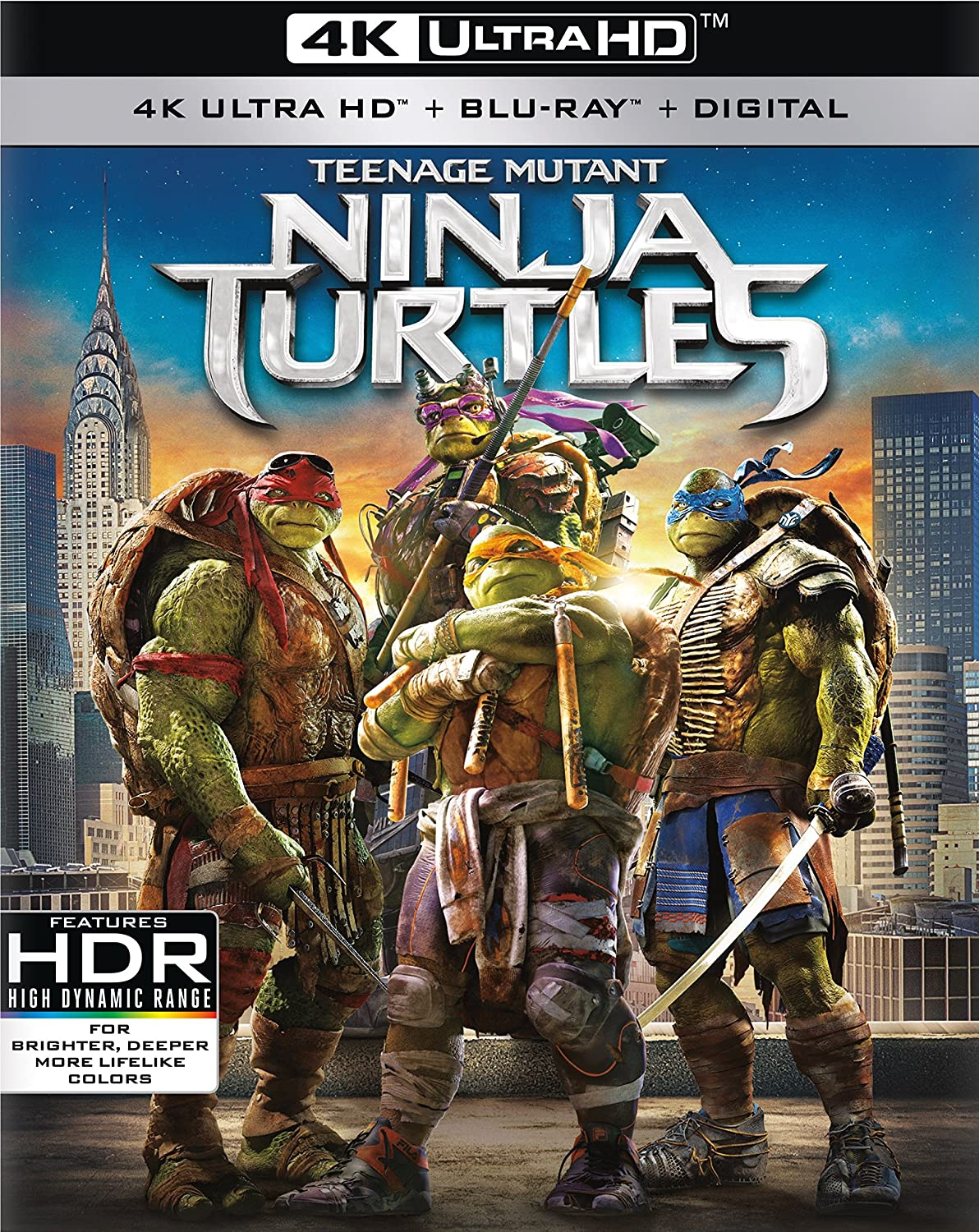 Amazon.com: Teenage Mutant Ninja Turtles (2014) [Blu-ray ...