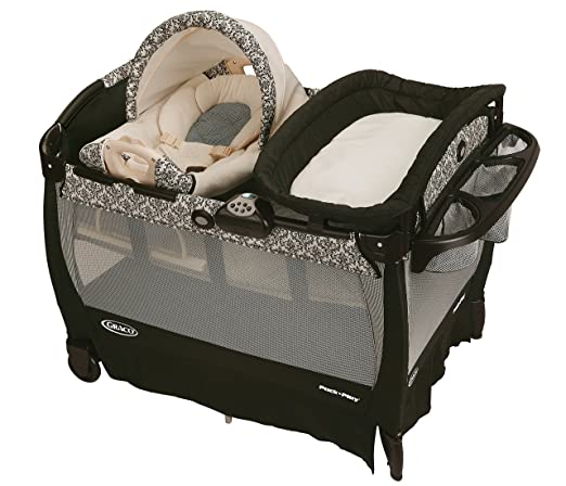 Graco Pack N Play Playard with Cuddle Cove Rocking Seat Review