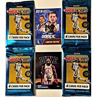 $68 » 2019-20 Panini NBA Hoops PREMIUM Stock FACTORY Sealed Basketball Card Packs (4…