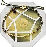 gorjana Gold Plated Power Gemstone Bracelet