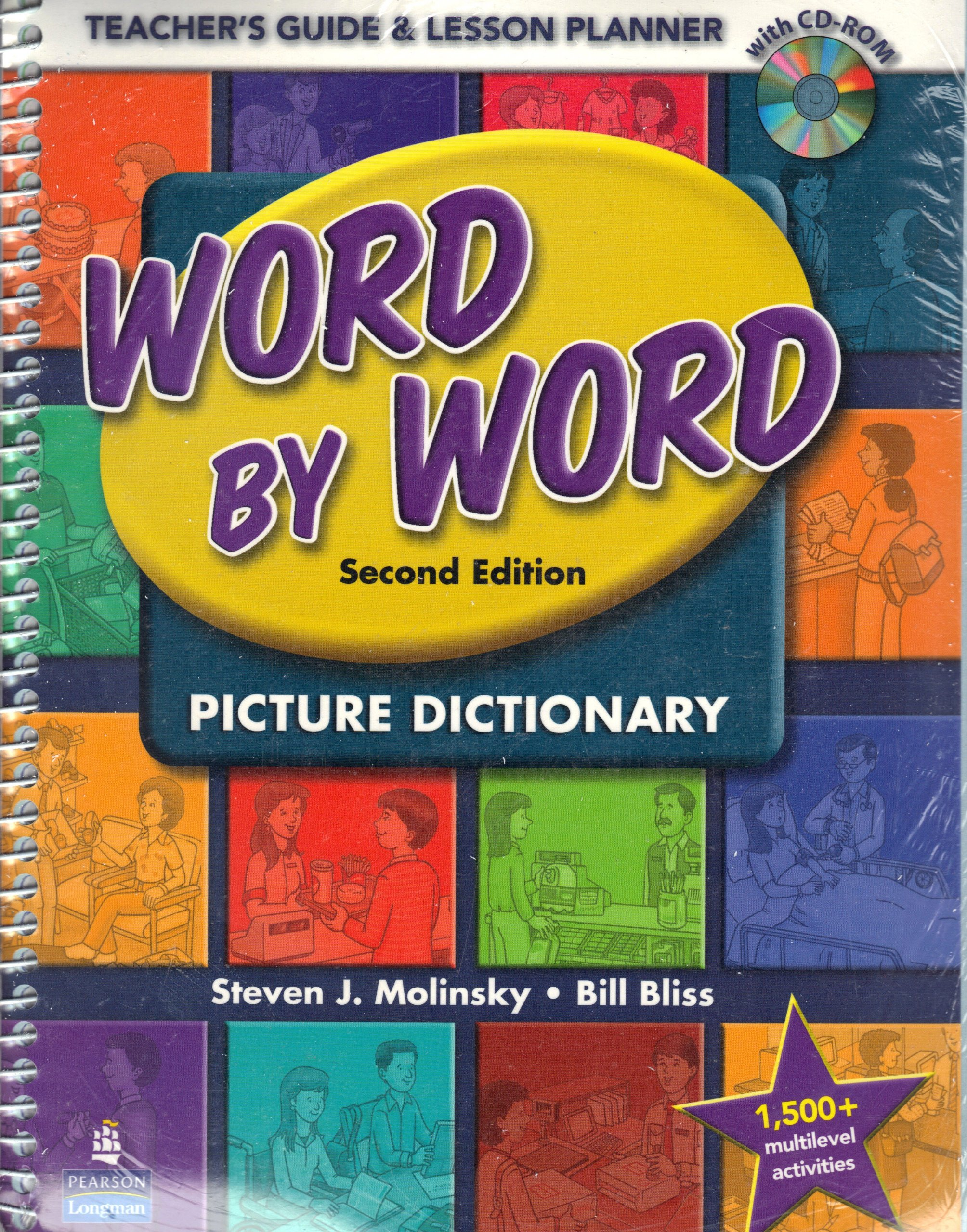 Word By Word Picture Dictionary Teachers Guide Lesson Planner