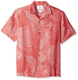 28 Palms Men's Relaxed-Fit Silk/Linen Tropical