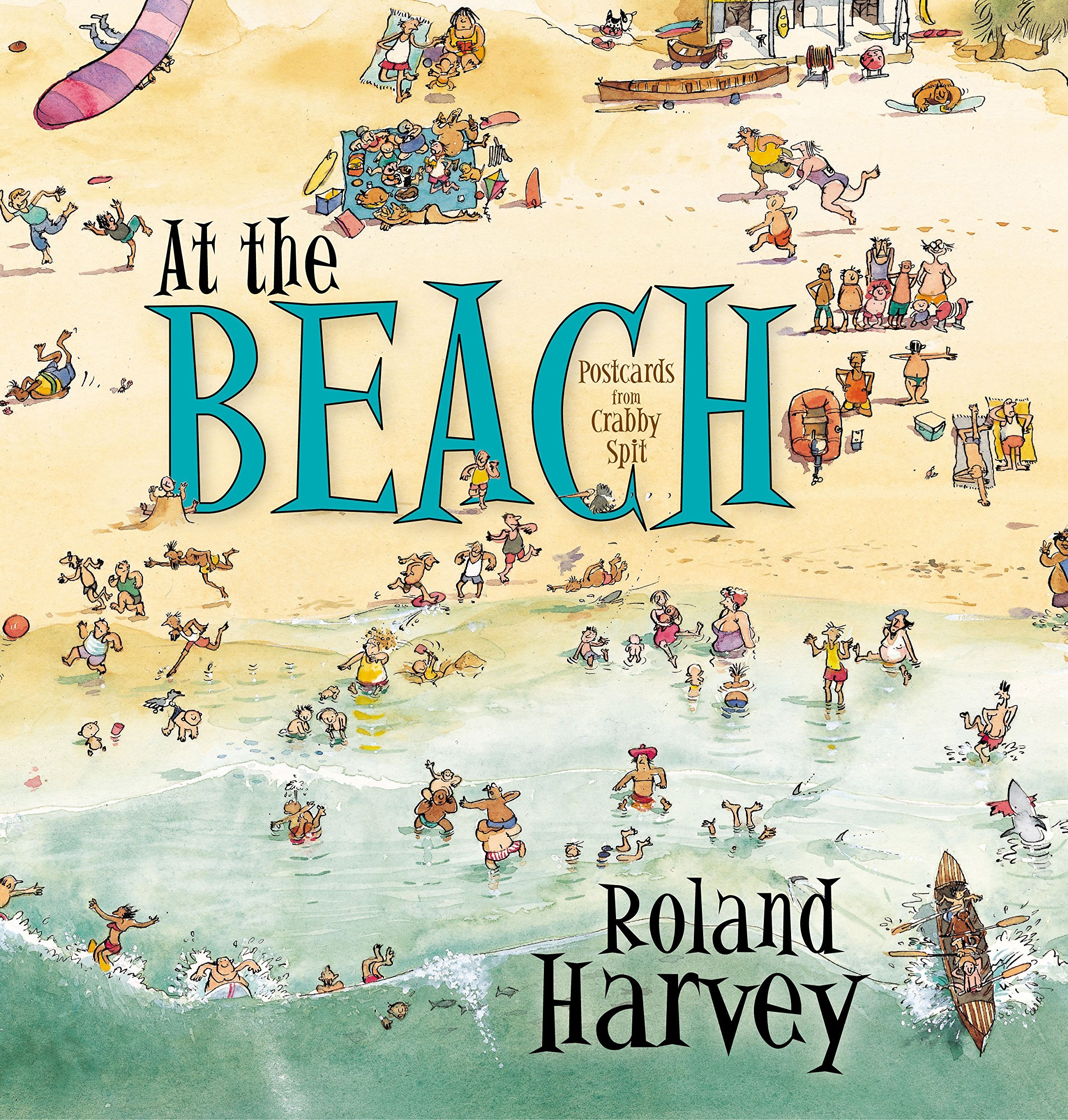 Image result for at the beach roland harvey