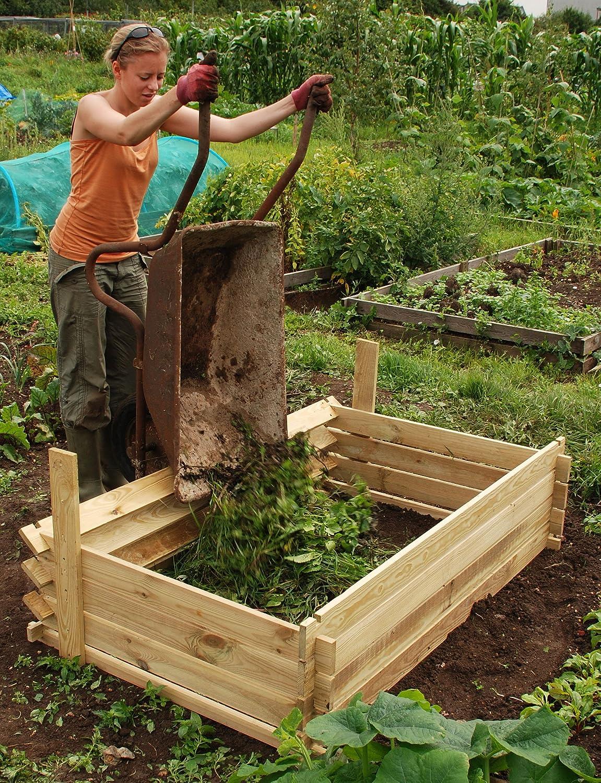 Easy-Load Wooden Compost Bin - Extra Large - 897 Litres Primrose