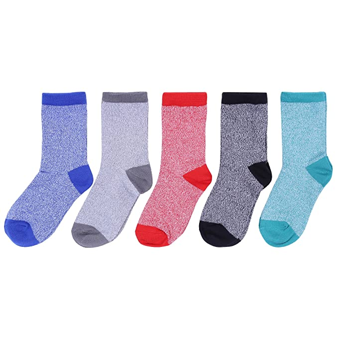 Rebel 5 x Calcetines de colores 11 Años +
