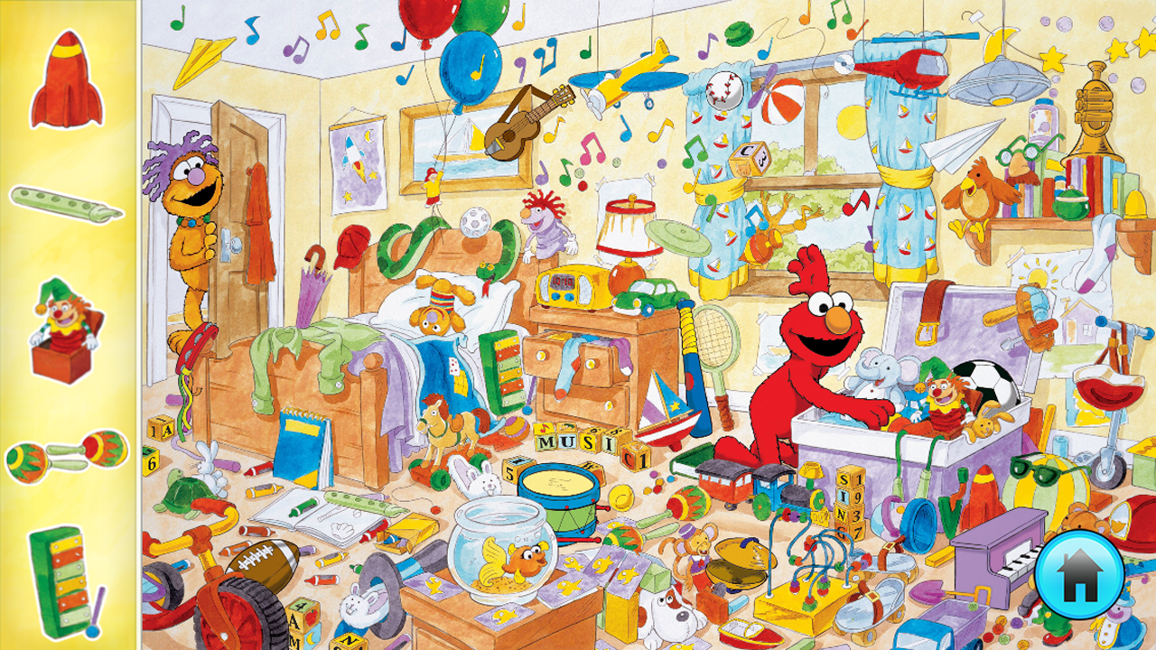 Amazon Com Look And Find 174 Elmo On Sesame Street Appstore