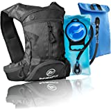 InnerFit Insulated Hydration Backpack and Water Bladder, Durable Camel Backpack Hydration Pack - Running, Hiking, Biking and