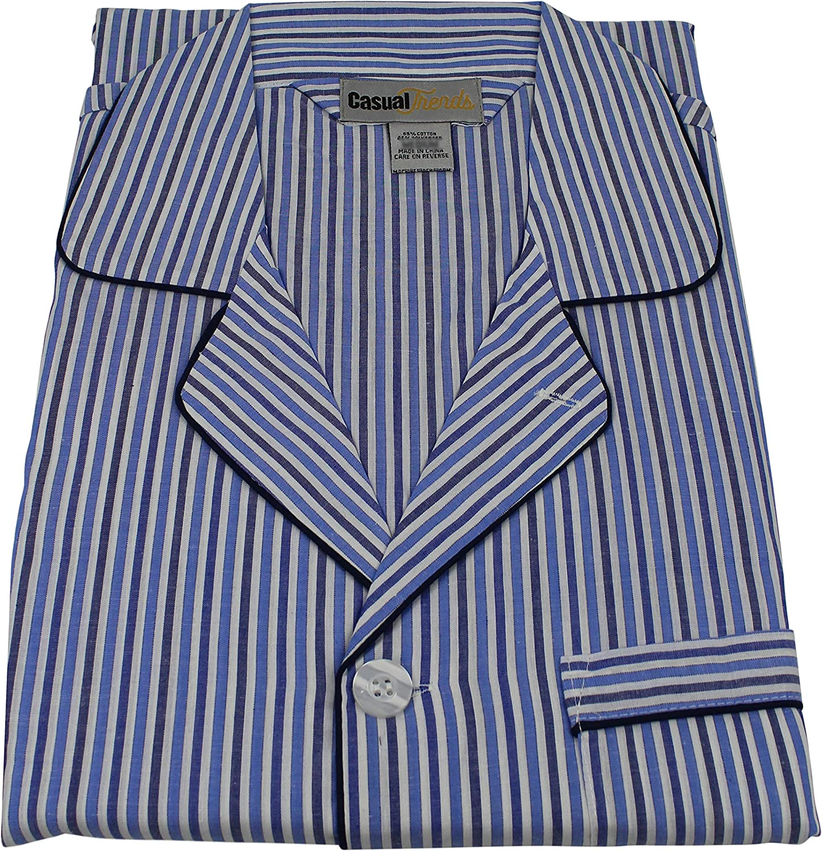 Casual Trends Men/'s Pajama Set Broadcloth Pajamas for Men,