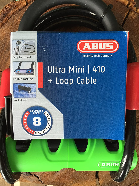 10//120 cobra cable con soporte sh34 Abus ultra mini 410//150hb180 estribo castillo