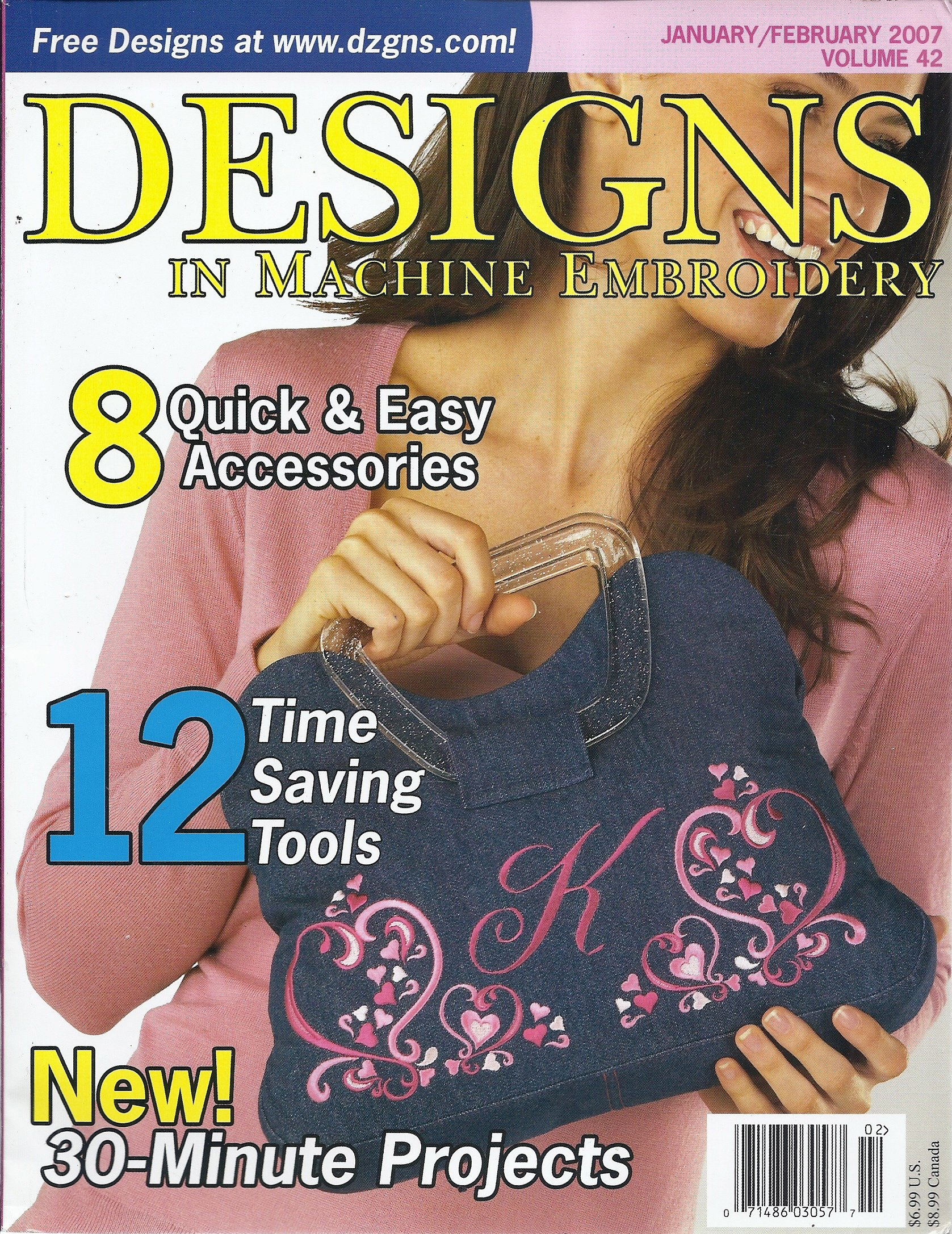 Download Designs in Machine Embroidery (January/February 2007) PDF