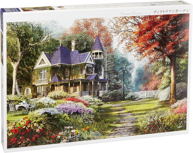 Apple One 1000 Piece Jigsaw Puzzle Victorian Garden (50 X 75 Cm) (japan import)