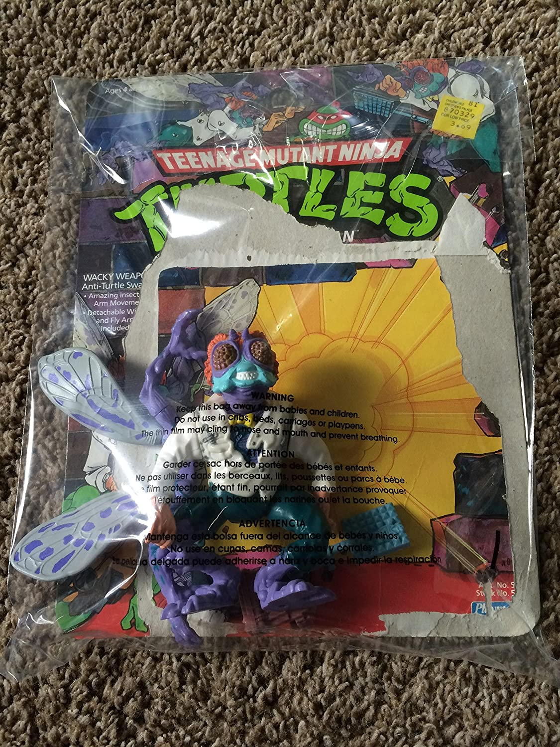 Teenage Mutant Ninja Turtles Baxter Stockman Moc Playmates 6057