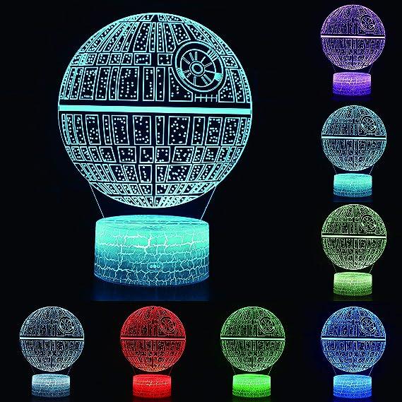 Amazon.com: Funnite - Luces de noche 3D LED con iluminación ...