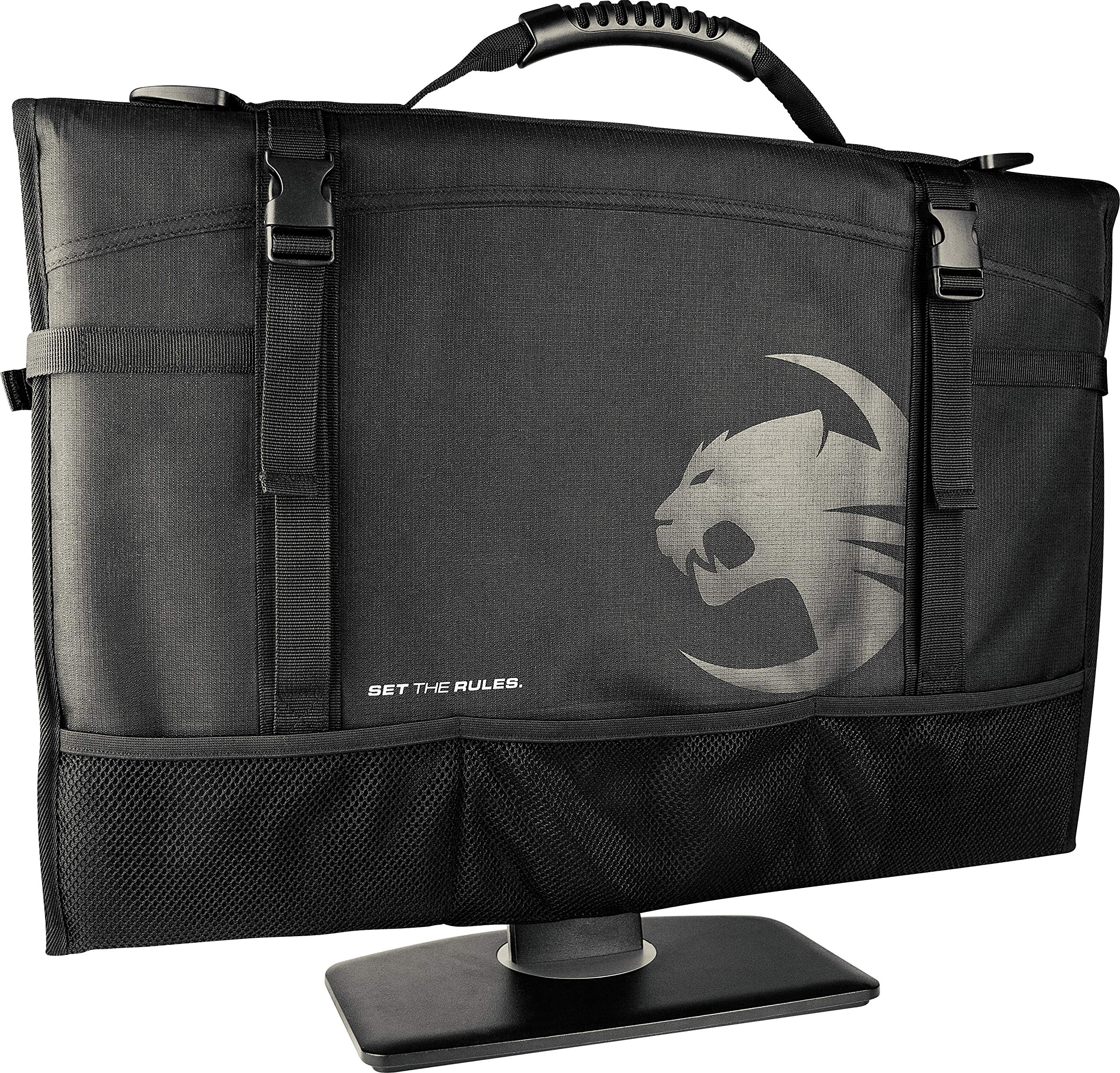 ROCCAT Latest Version Tusko Across-The-Board Flat Screen/Widescreen Bag, Black by ROCCAT (Image #1)