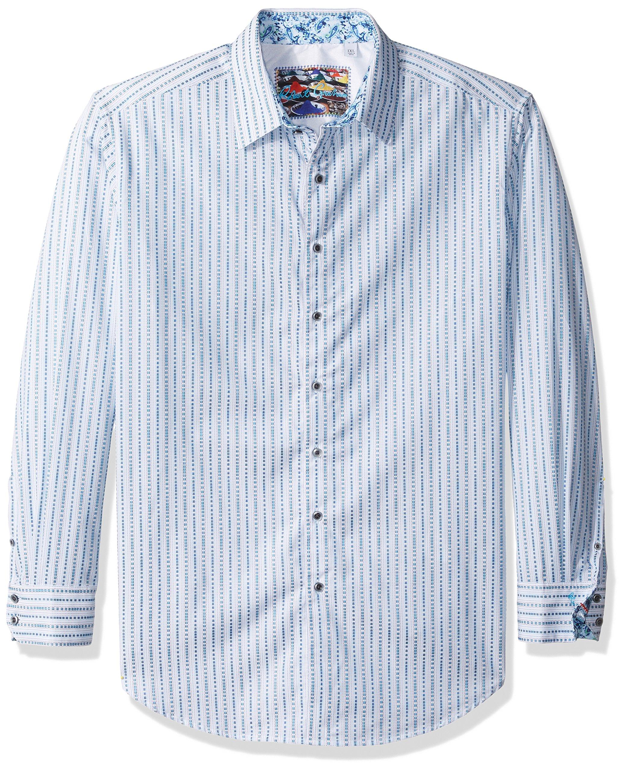 Robert Graham Men's big Woven Long Sleeve Sport Shirt