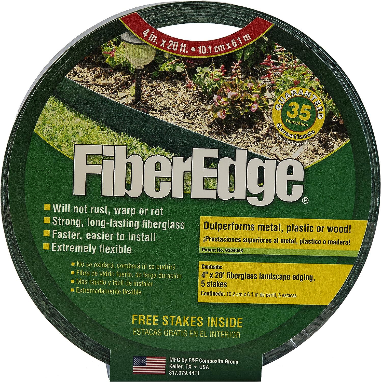 FiberEdge – 4 Green Fiberglass Edging