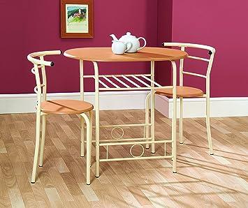 Greenhurst Kompakter Esstisch Und Stühle Ideal Für Kleine Küchen