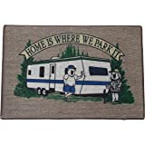 """Home & More 151041827 RV Parking Indoor Mat, 18"""" x 27"""", Multicolor"""