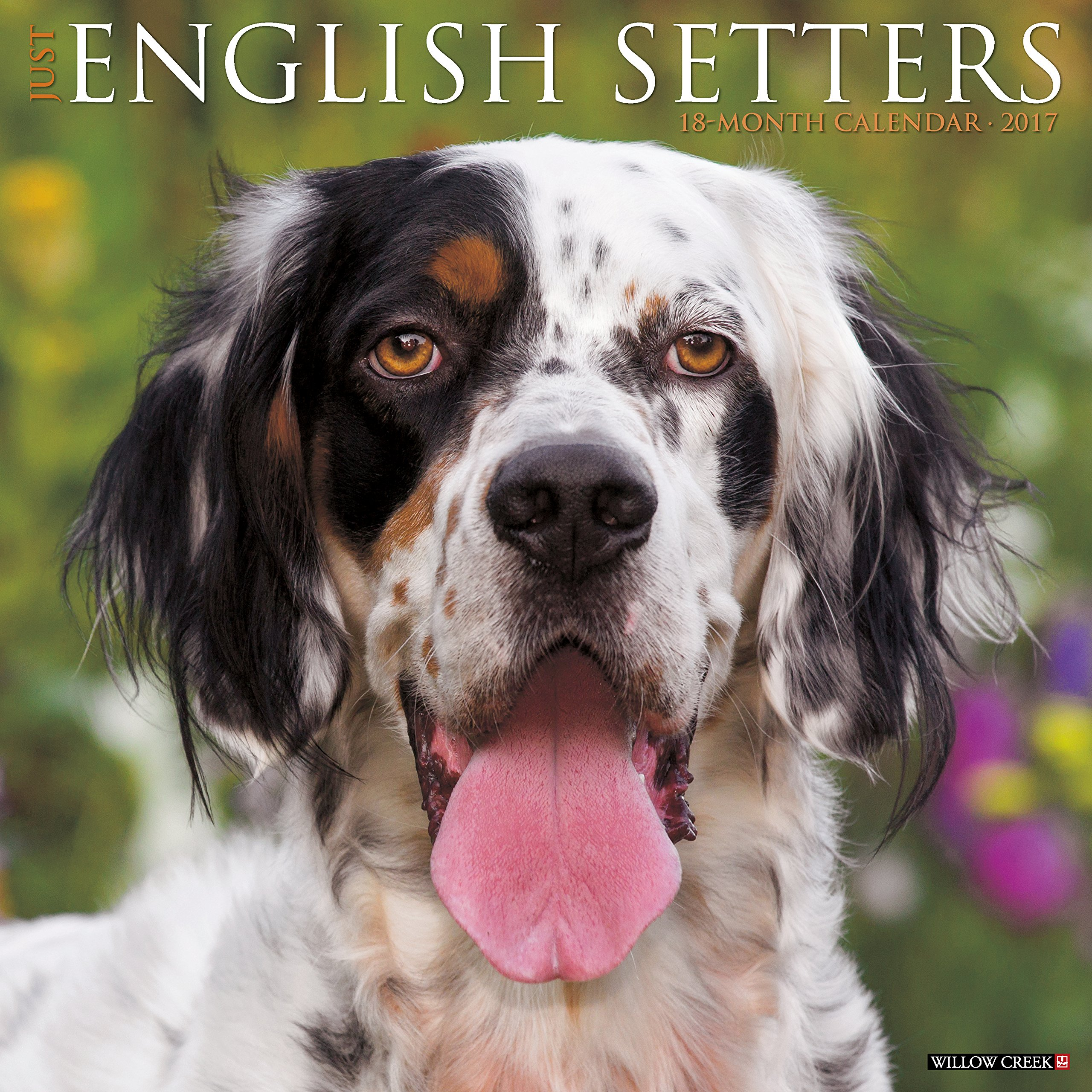 Just English Setters 2017 Wall Calendar (Dog Breed Calendars)