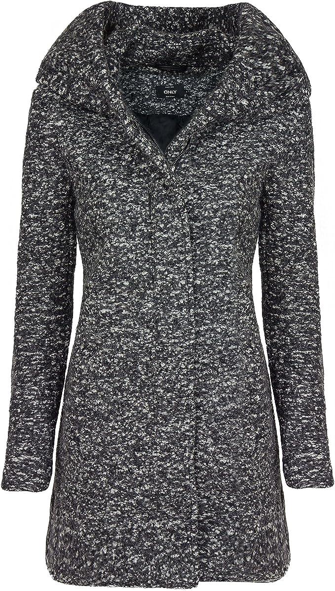 ONLY Damen Onlindie Noma Wool Coat Cc OTW Mantel