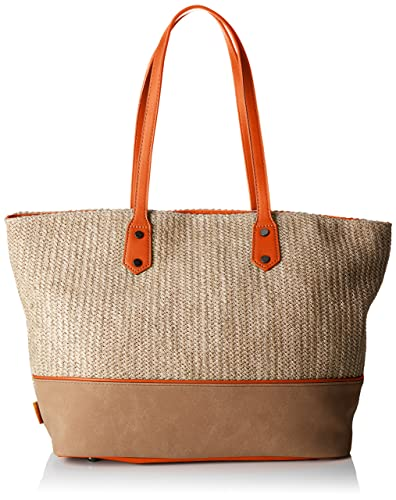 naranja Orange de mujer David Cm3808 Jones Tote T3 zwxnvRq