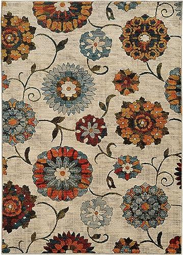 Oriental Weavers 6361A Sedona Area Rug, 9 10 x 12 10