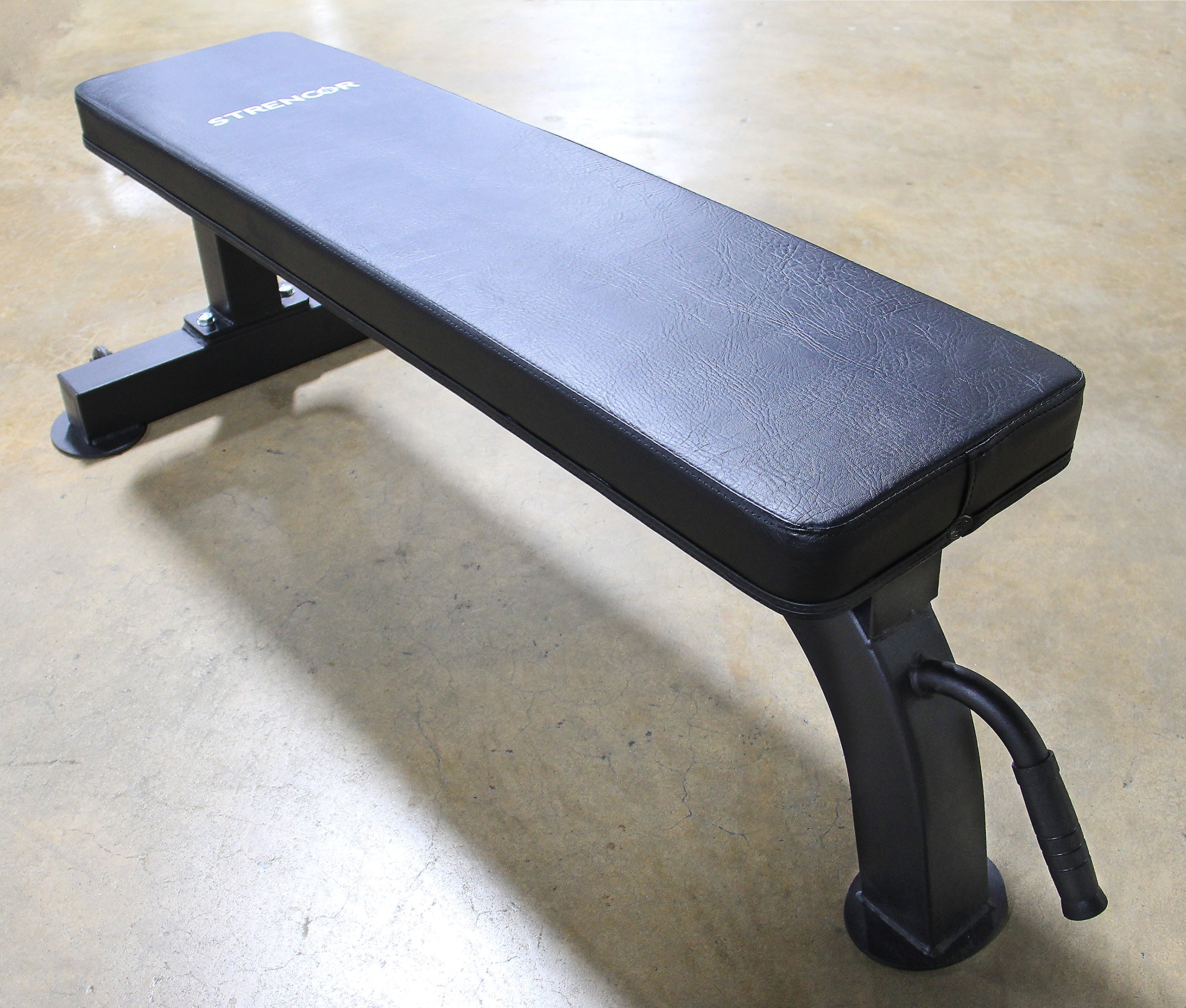 Strencor Commercial Flat Bench by Strencor Fitness (Image #1)