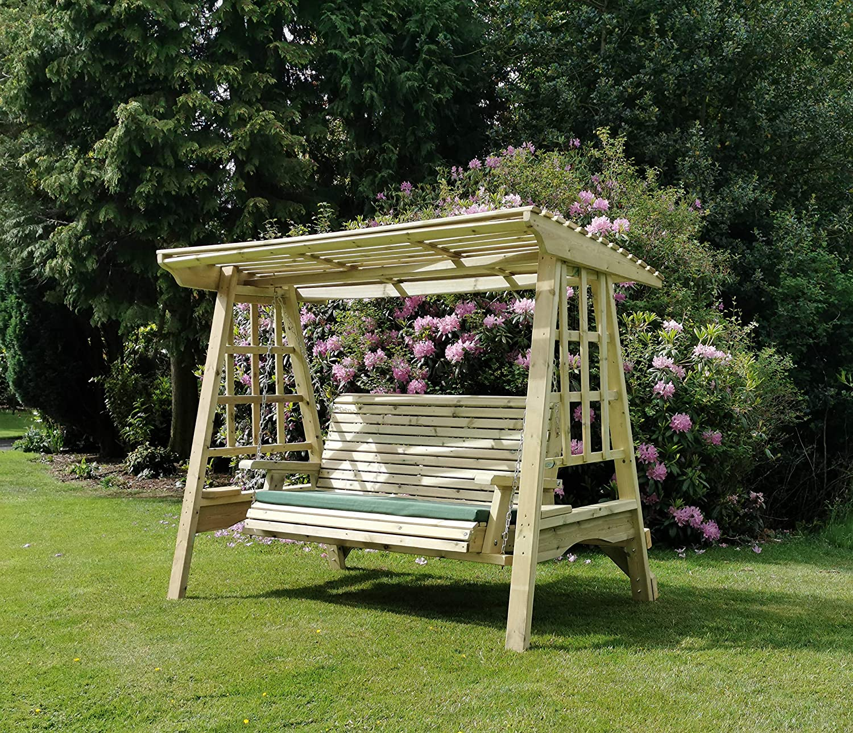 Churnet Valley Garden Furniture Columpio de jardín de madera ...