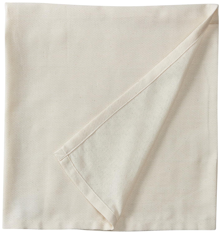 有機押さえつける毛布 - USA製コットン100% - OATMEAL   B00E1SIHCU