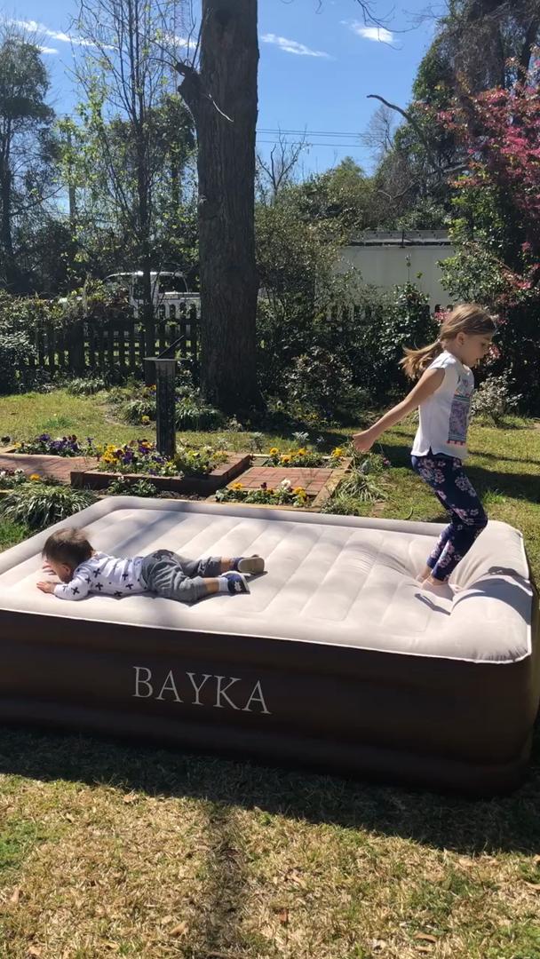 Amazon Com Customer Reviews Bayka Queen Air Mattress