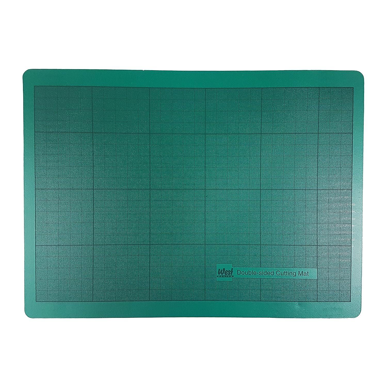 West RS005618 - Schneidematte, A4, Selbstheilend, grün grün West Design Products Ltd F920017