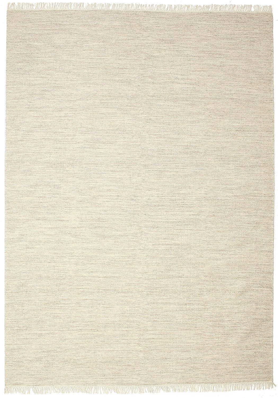 CarpetVista Melange - Hellbeige Braun Teppich 250x350 Orientteppich