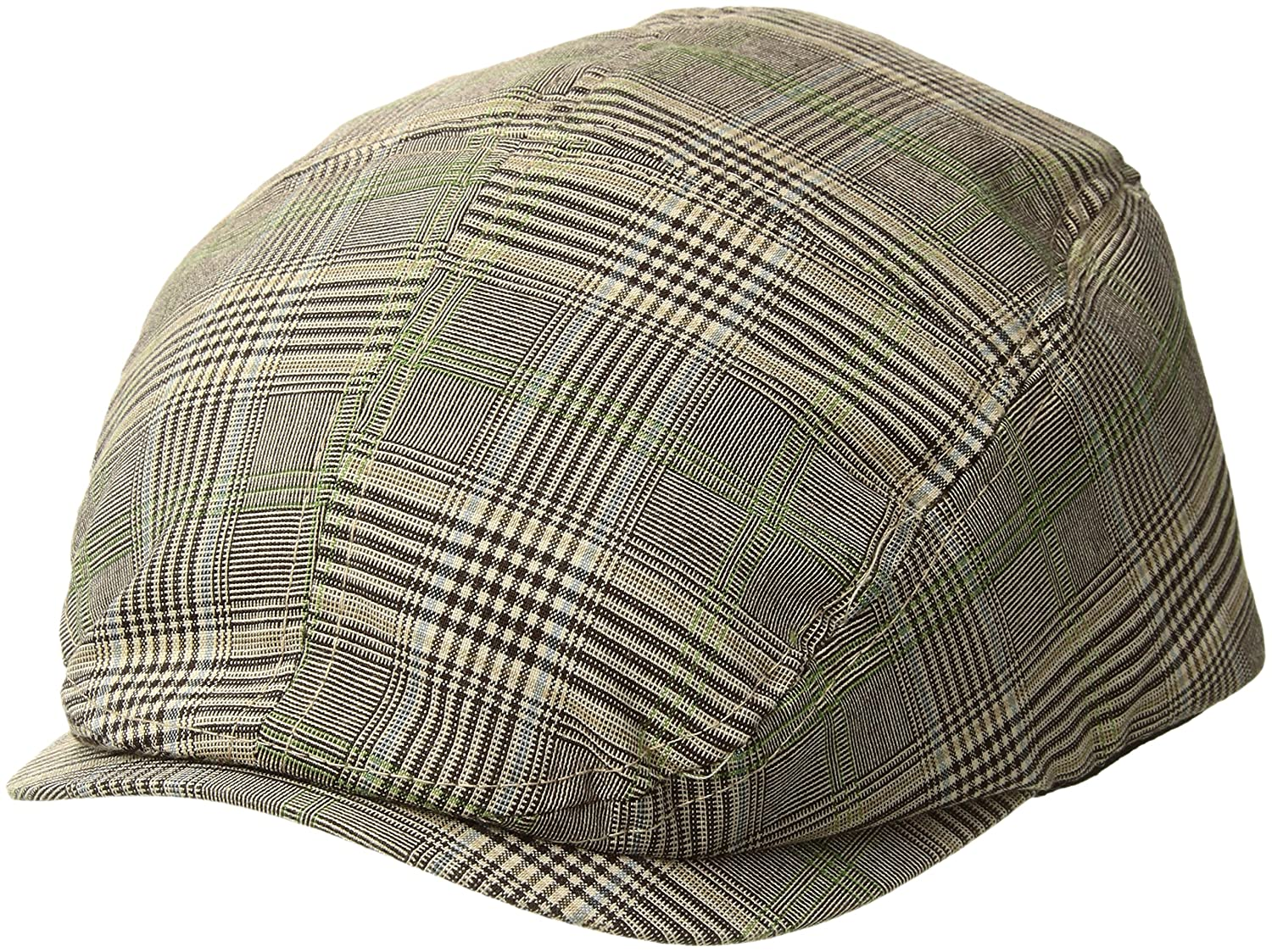 Fashion Plaid Ivy Cap - Brown W10S69F Mega Cap B003E30KVO
