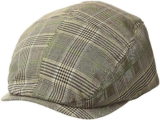 d90b29e5 MG Men's Plaid Ivy Newsboy Cap Hat at Amazon Men's Clothing store: