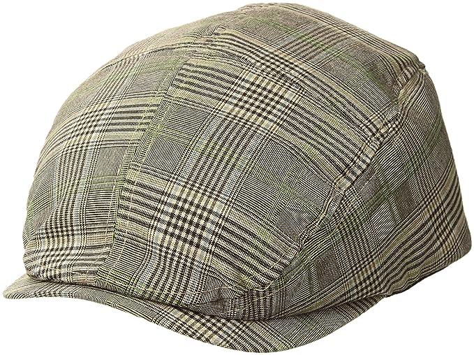 MG Men s Plaid Ivy Newsboy Cap Hat at Amazon Men s Clothing store  415956dfbc3a