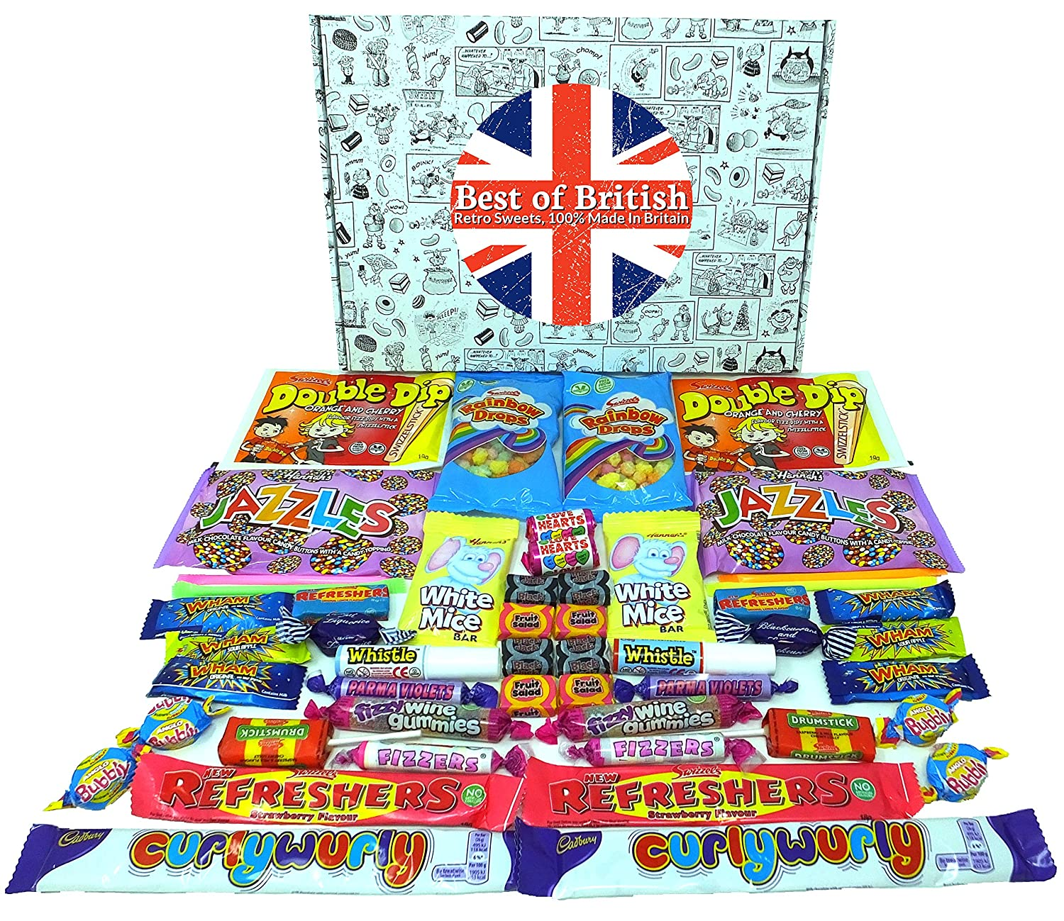British Share Box of Retro Sweets