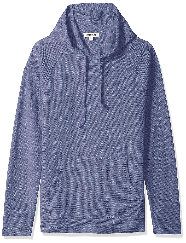 Brand Goodthreads Mens Long-Sleeve Slub Thermal Pullover Hoodie