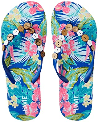Lavie Women's Flip-Flops and House Slippers Flip-Flops & House Slippers at amazon