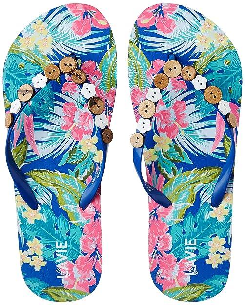 Lavie Women's Flip-Flops and House Slippers Flip-Flops & House Slippers at amazon