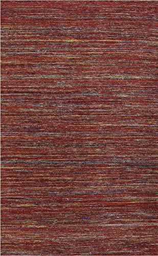 Amer Rugs Design Rug, 5 x 8 , Red