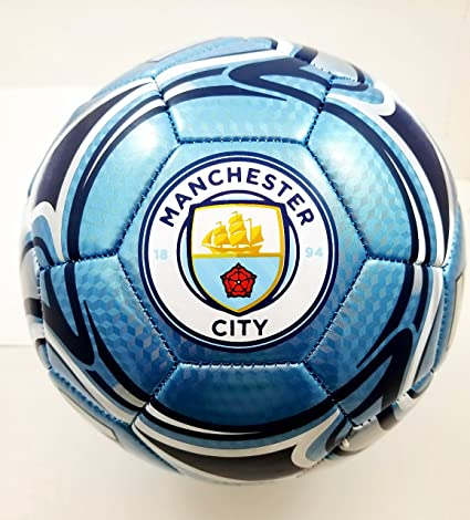 Manchester City F.C Authentic Official Licensed Soccer Ball Size 3