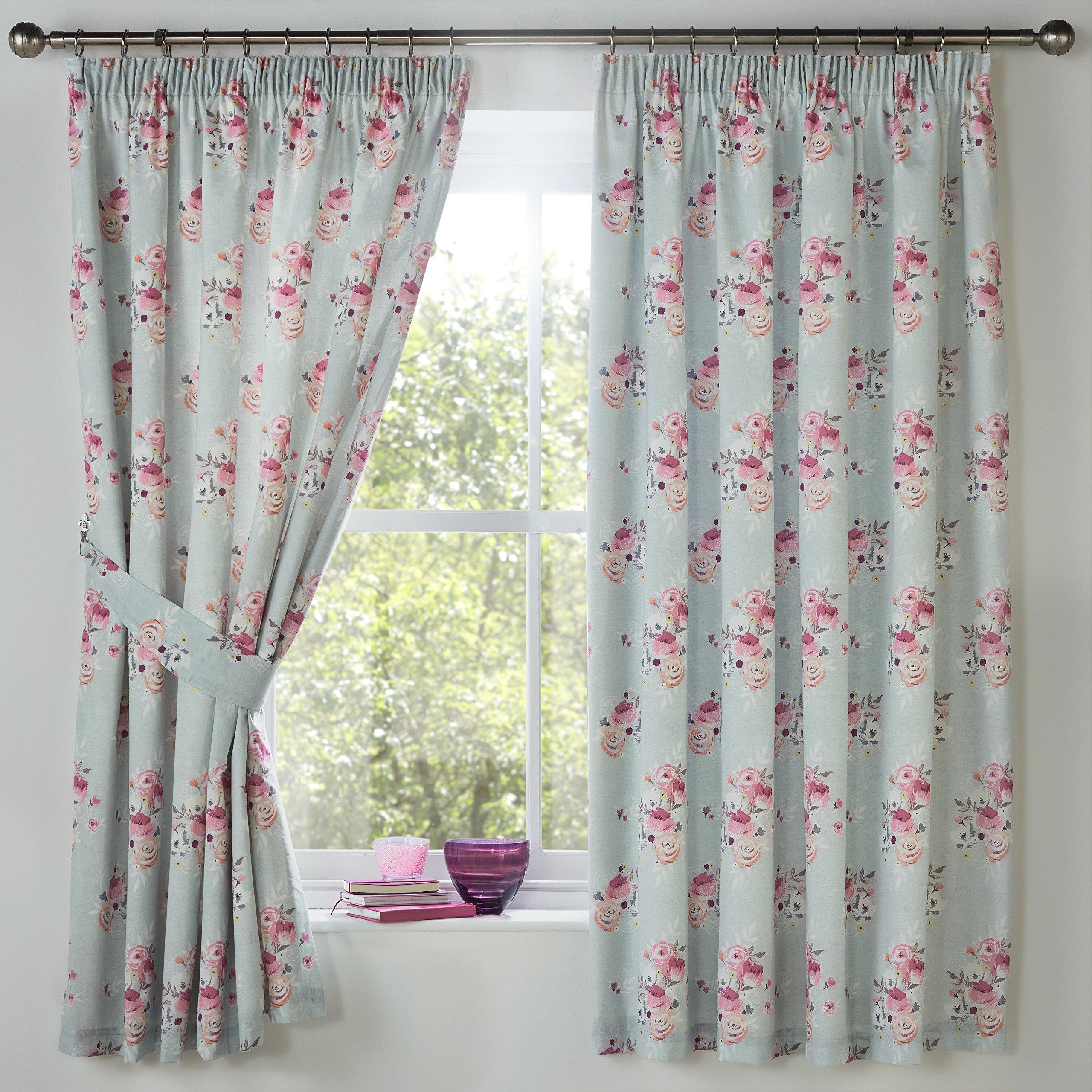Dreams U0026 Drapes   Penelope   Lined Pencil Pleat Curtains   66x72 (168 X  183cm