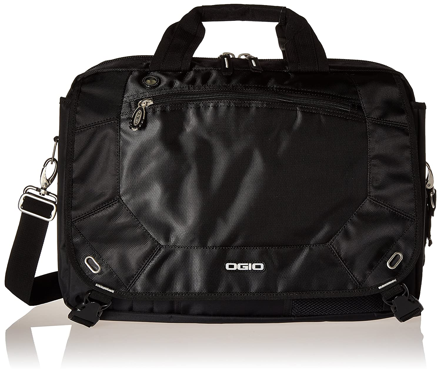 Ogio Unisex Radial Top Zip Laptop Messenger Bag