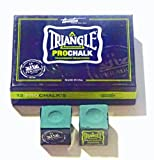 2 X PCS TRIANGLE PRO CHALK FOR THE SERIOUS PLAYER**